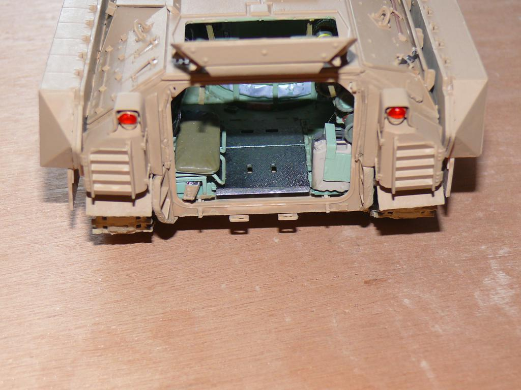M3A3 BRADLEY w/BUSK III U.S. CAVALRY FIGHTING VEHICLE DE MENG Au 1/35 Bradle28