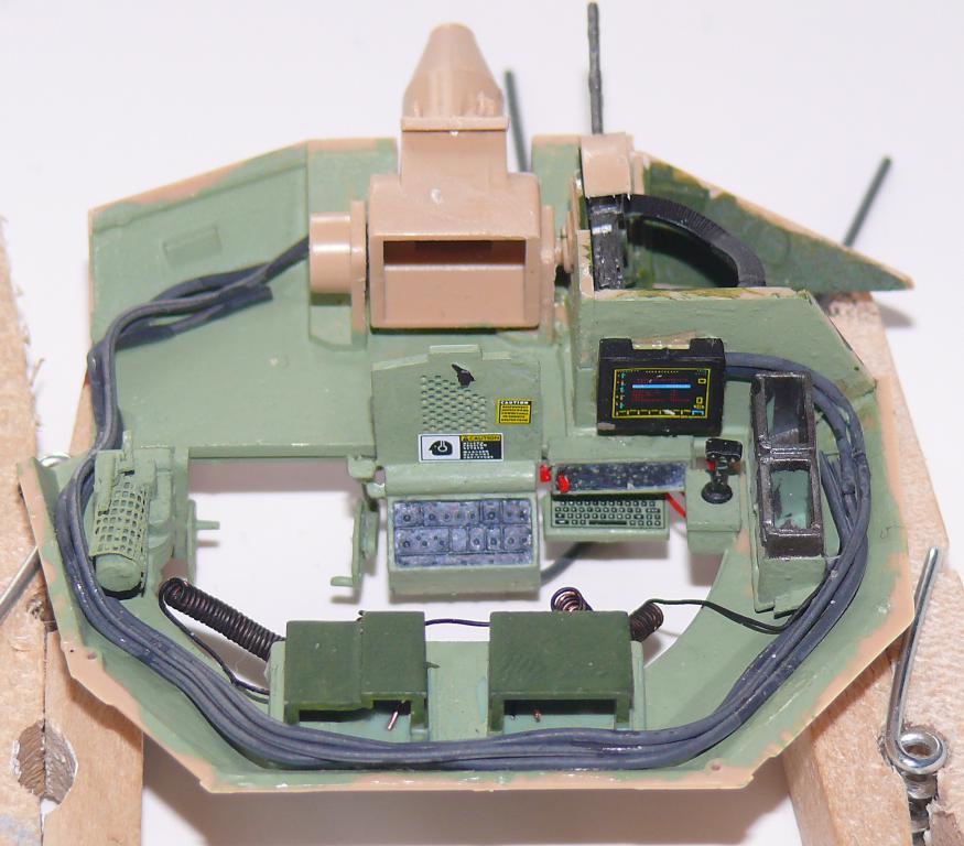M3A3 BRADLEY w/BUSK III U.S. CAVALRY FIGHTING VEHICLE DE MENG Au 1/35 Bradle30