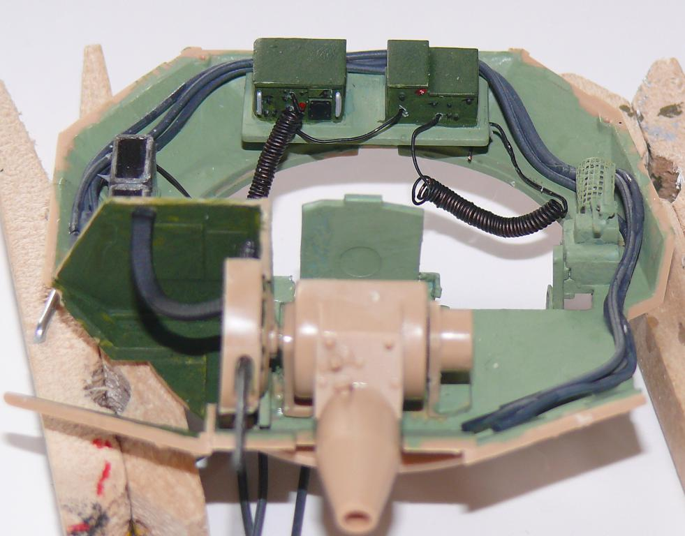 M3A3 BRADLEY w/BUSK III U.S. CAVALRY FIGHTING VEHICLE DE MENG Au 1/35 Bradle32