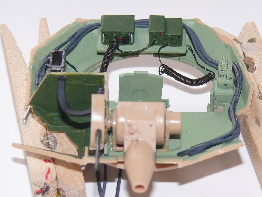 M3A3 BRADLEY w/BUSK III U.S. CAVALRY FIGHTING VEHICLE DE MENG Au 1/35 Bradle33