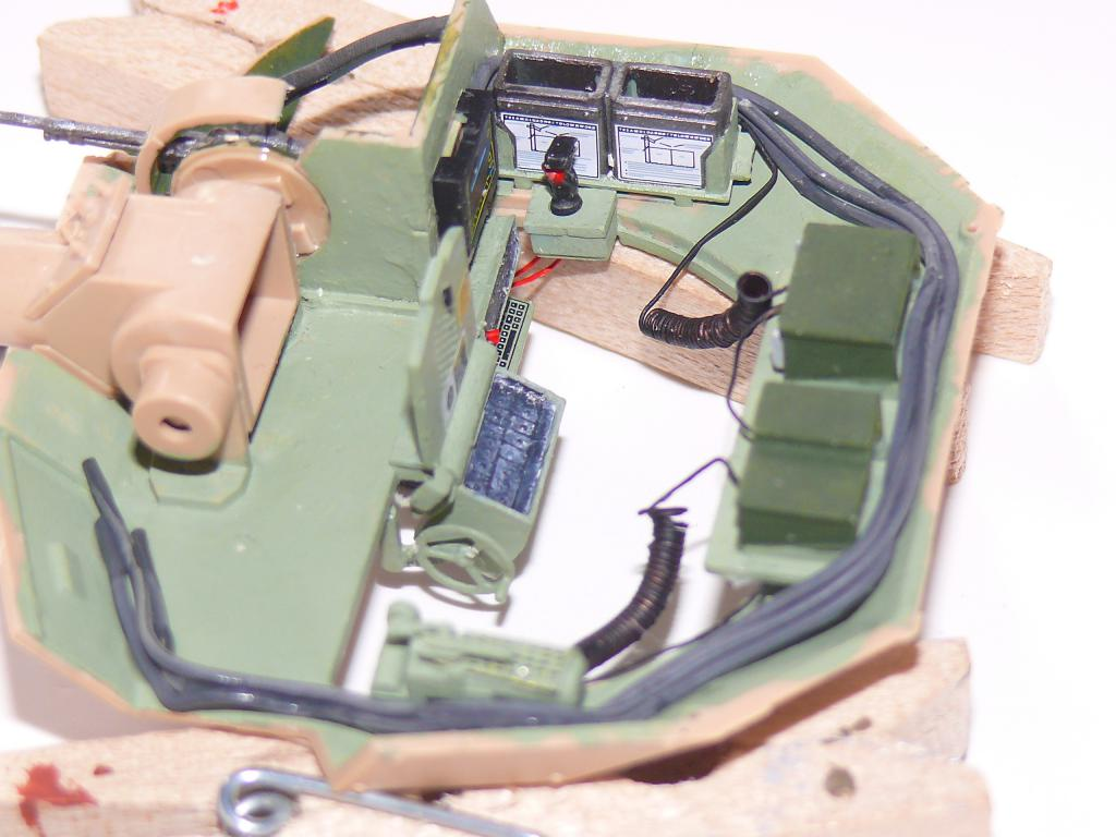 M3A3 BRADLEY w/BUSK III U.S. CAVALRY FIGHTING VEHICLE DE MENG Au 1/35 Bradle34