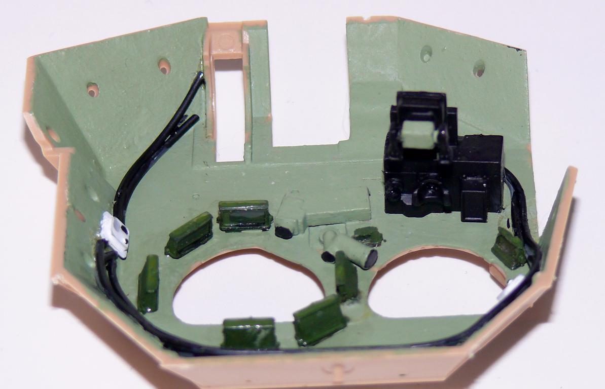 M3A3 BRADLEY w/BUSK III U.S. CAVALRY FIGHTING VEHICLE DE MENG Au 1/35 Bradle52