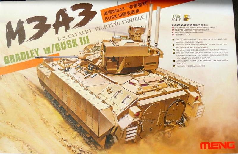 M3A3 BRADLEY w/BUSK III U.S. CAVALRY FIGHTING VEHICLE DE MENG Au 1/35 M3a3_b10