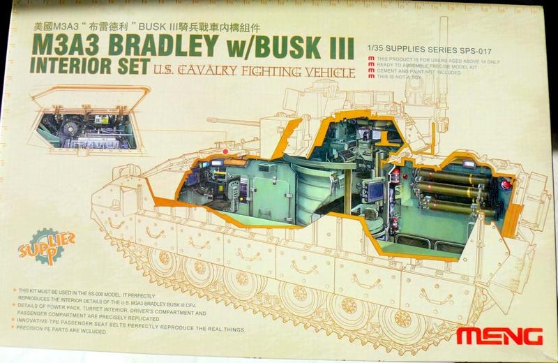 M3A3 BRADLEY w/BUSK III U.S. CAVALRY FIGHTING VEHICLE DE MENG Au 1/35 M3a3_b11