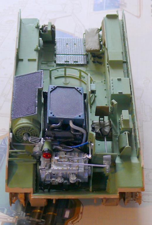 M3A3 BRADLEY w/BUSK III U.S. CAVALRY FIGHTING VEHICLE DE MENG Au 1/35 M3a3_b17