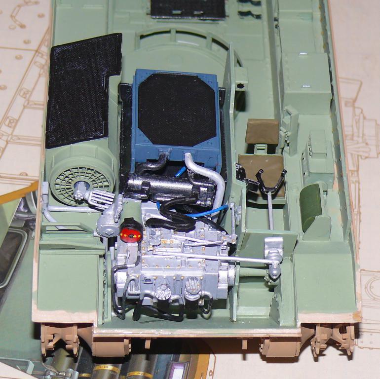 M3A3 BRADLEY w/BUSK III U.S. CAVALRY FIGHTING VEHICLE DE MENG Au 1/35 M3a3_b19