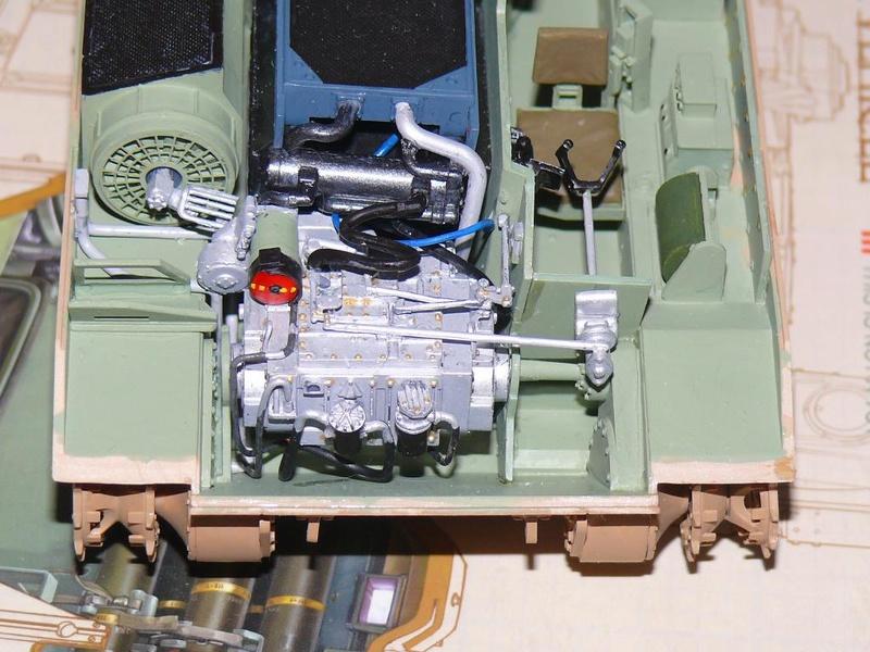 M3A3 BRADLEY w/BUSK III U.S. CAVALRY FIGHTING VEHICLE DE MENG Au 1/35 M3a3_b22