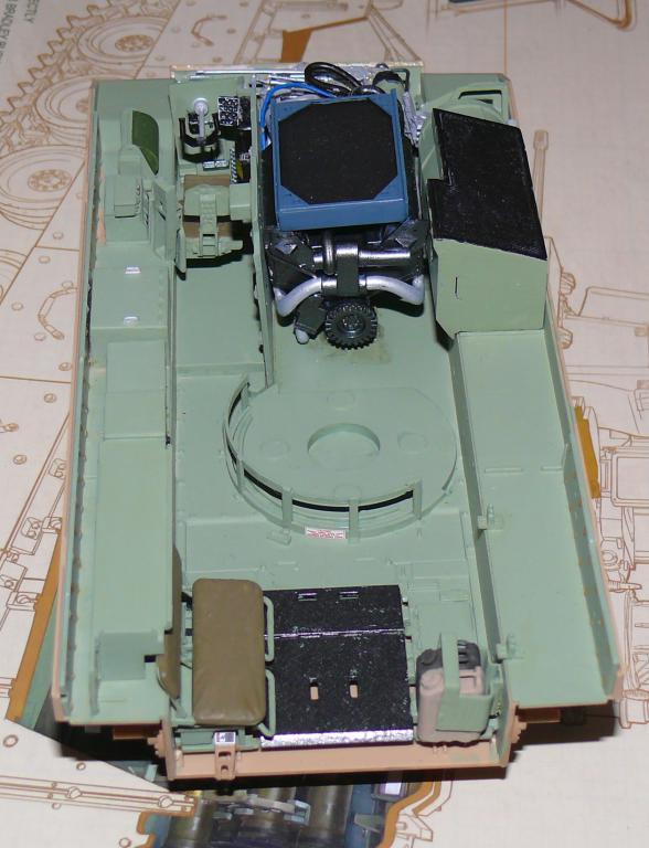 M3A3 BRADLEY w/BUSK III U.S. CAVALRY FIGHTING VEHICLE DE MENG Au 1/35 M3a3_b27