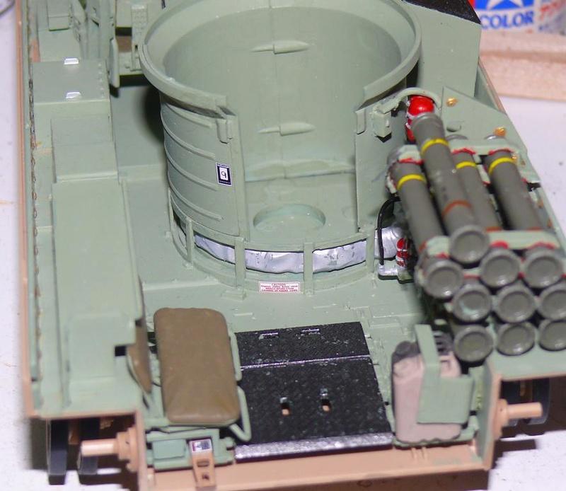 M3A3 BRADLEY w/BUSK III U.S. CAVALRY FIGHTING VEHICLE DE MENG Au 1/35 M3a3_b37