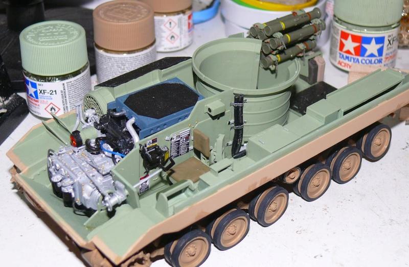 M3A3 BRADLEY w/BUSK III U.S. CAVALRY FIGHTING VEHICLE DE MENG Au 1/35 M3a3_b44