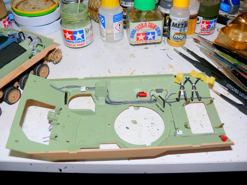 M3A3 BRADLEY w/BUSK III U.S. CAVALRY FIGHTING VEHICLE DE MENG Au 1/35 M3a3_b50