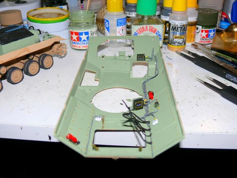 M3A3 BRADLEY w/BUSK III U.S. CAVALRY FIGHTING VEHICLE DE MENG Au 1/35 M3a3_b52