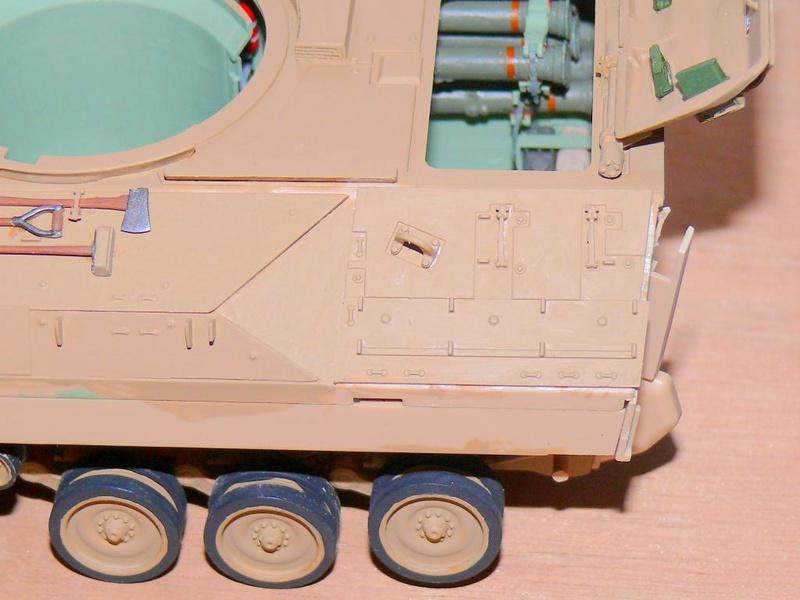 M3A3 BRADLEY w/BUSK III U.S. CAVALRY FIGHTING VEHICLE DE MENG Au 1/35 M3a3_b56