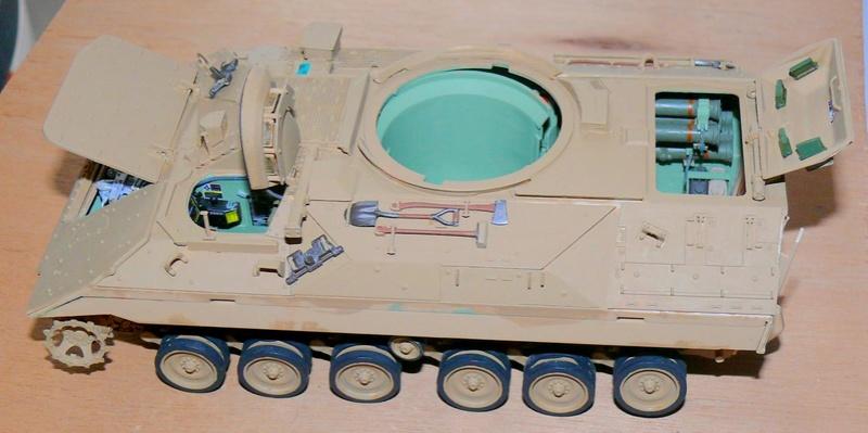 M3A3 BRADLEY w/BUSK III U.S. CAVALRY FIGHTING VEHICLE DE MENG Au 1/35 M3a3_b58