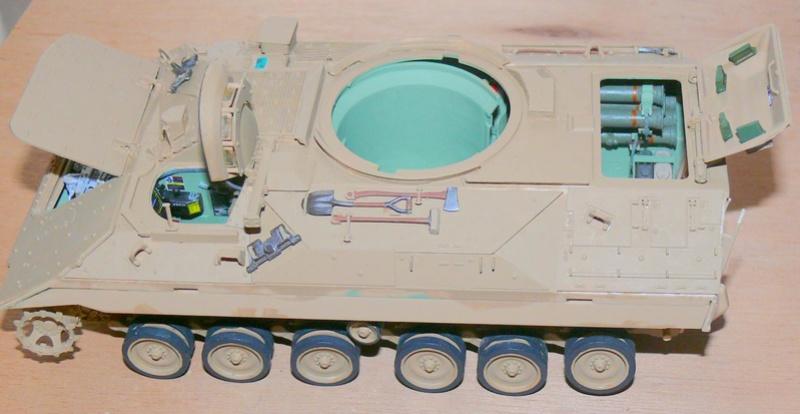 M3A3 BRADLEY w/BUSK III U.S. CAVALRY FIGHTING VEHICLE DE MENG Au 1/35 M3a3_b60