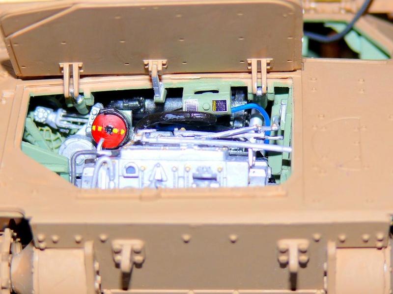 M3A3 BRADLEY w/BUSK III U.S. CAVALRY FIGHTING VEHICLE DE MENG Au 1/35 M3a3_b66