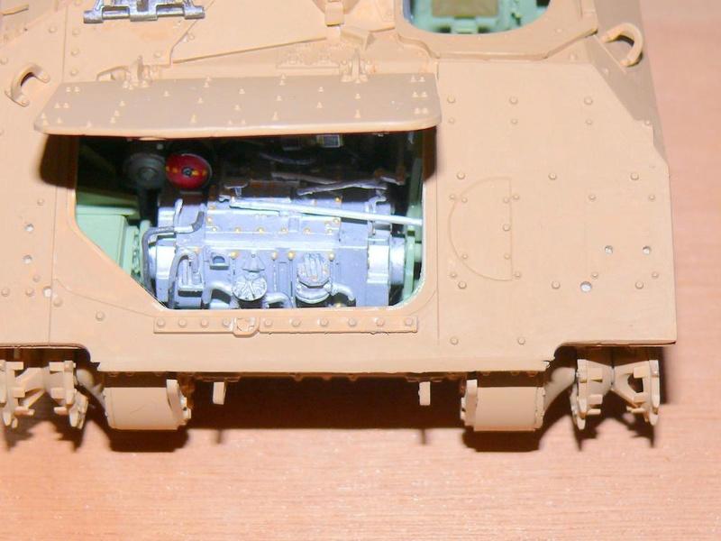 M3A3 BRADLEY w/BUSK III U.S. CAVALRY FIGHTING VEHICLE DE MENG Au 1/35 M3a3_b67