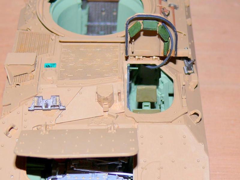 M3A3 BRADLEY w/BUSK III U.S. CAVALRY FIGHTING VEHICLE DE MENG Au 1/35 M3a3_b69