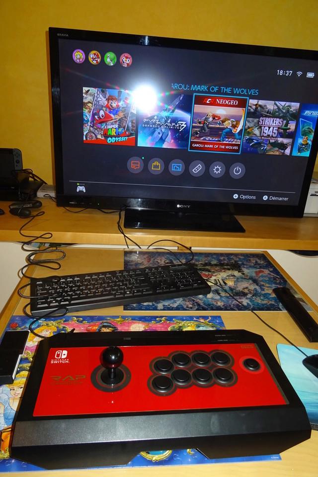 Nintendo Switch : L'arcade vintage pour tous !!  - Page 4 Dsc07718