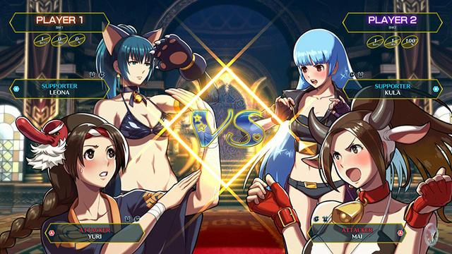 SNK Heroïnes - Tag Team Frenzy Wfusgb10