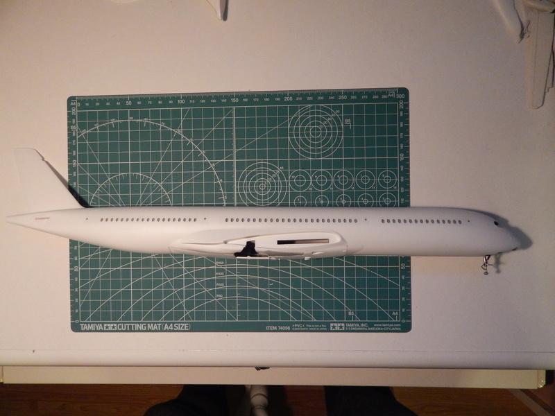 A350 Revell 1/144 Dscn2734