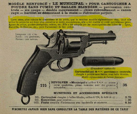 cartouches de ;320 et de 8 mm 92 8mm-510