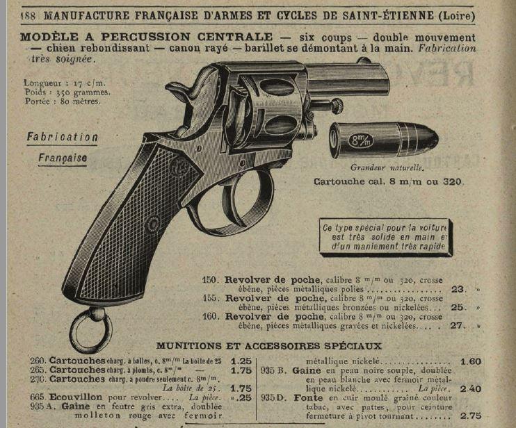 cartouches de ;320 et de 8 mm 92 8mm10