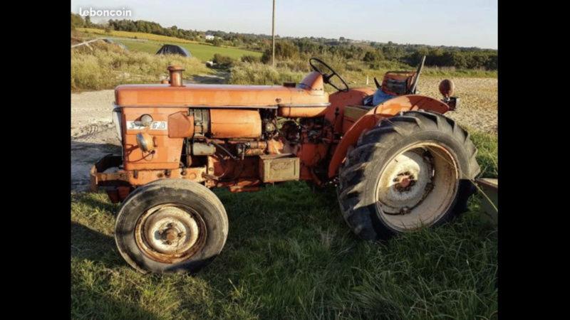 Tracteur Renault super 6D F3056d10