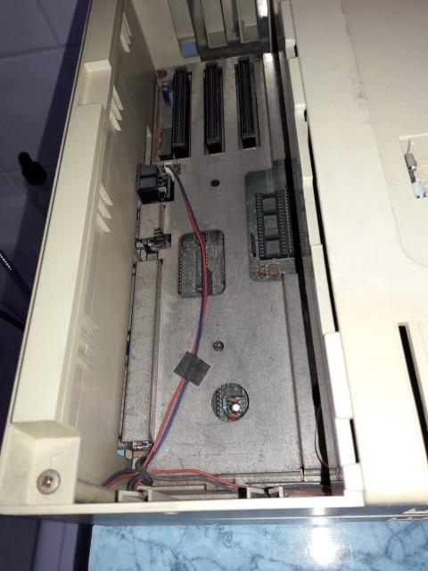 Remise en route Amstrad PC1640 HD20 20180318