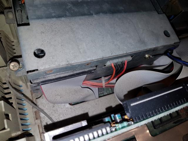 Remise en route Amstrad PC1640 HD20 20180321