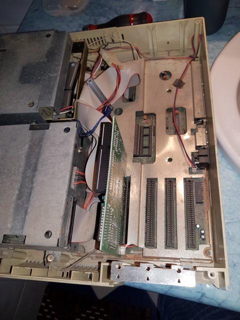 Remise en route Amstrad PC1640 HD20 20180326