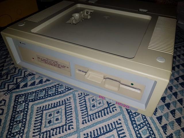 Remise en route Amstrad PC1640 HD20 20180330