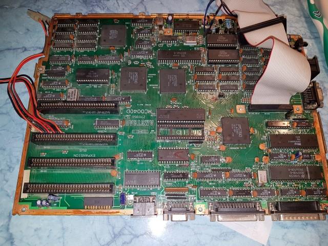 Remise en route Amstrad PC1640 HD20 20180331