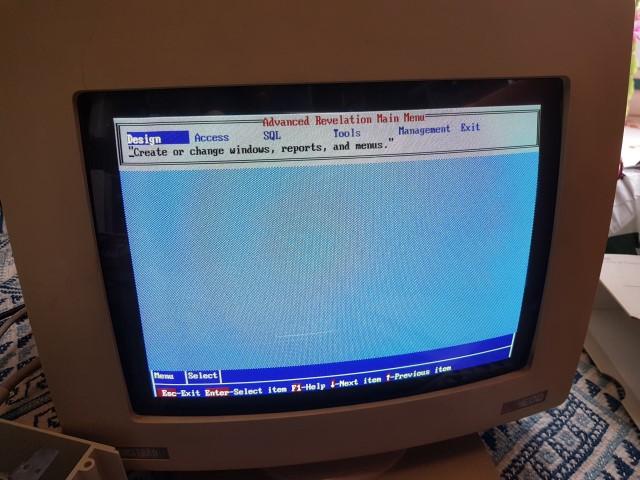 Remise en route Amstrad PC1640 HD20 20180419