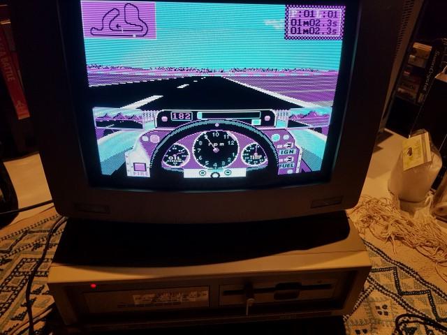 Remise en route Amstrad PC1640 HD20 20180420