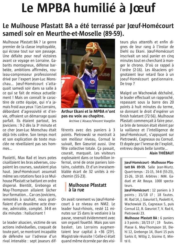 [J.11] Joeuf Homecourt Basket (8ème) - Mulhouse Pfastatt BA (1er) : 89-59 - Page 4 47232811