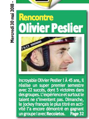 Interview dans Paris Courses Captur46