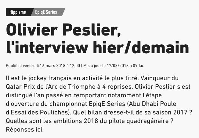 L'interview Op110