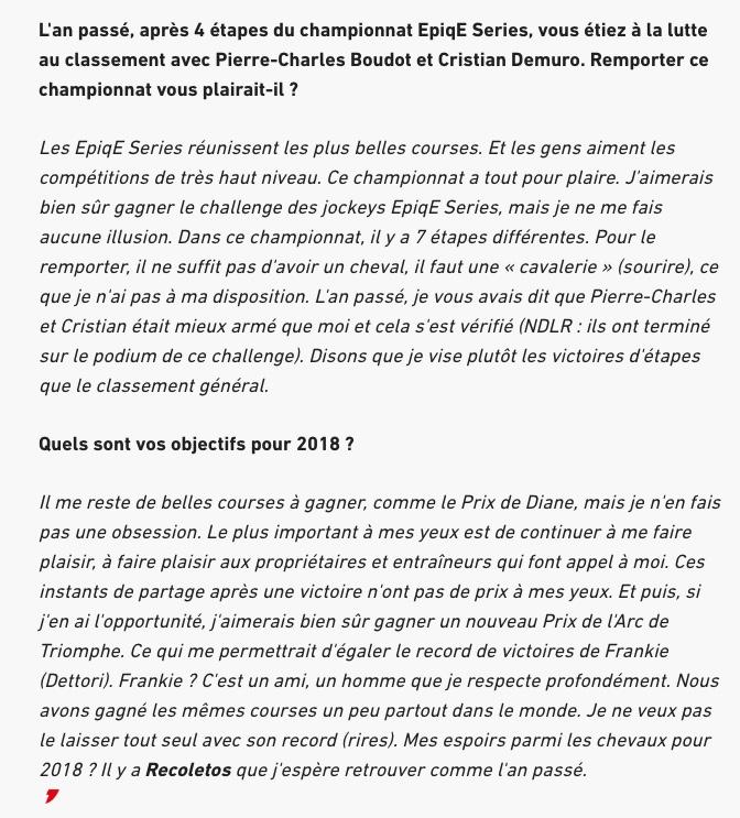 L'interview Op410