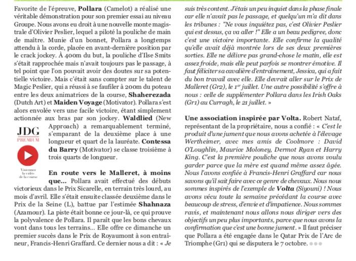 Le compteur de victoires : 2766, 03/06/18, Pollara Pollar11