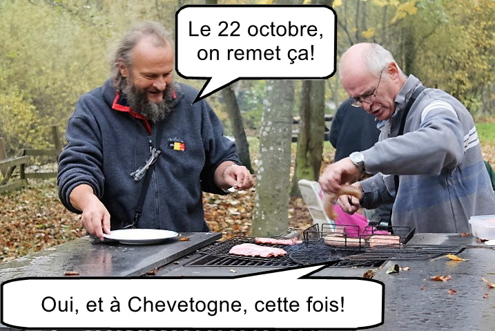 Le 22 octobre 2017, barbecue sans chasseurs. Att00010