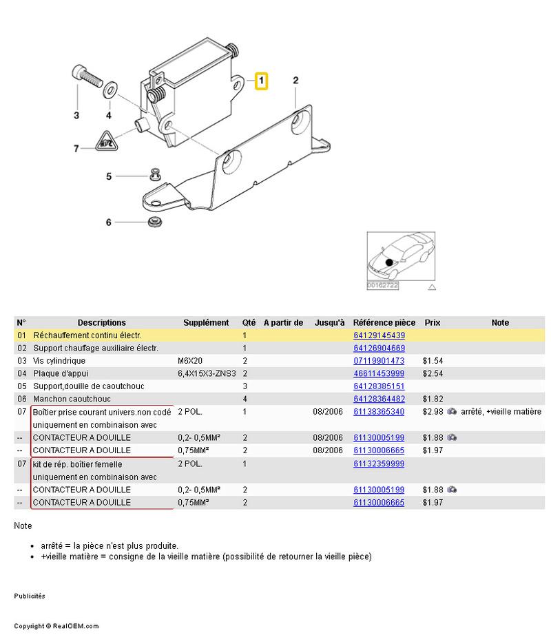 [ BMW E46 320D M47 an 2001 ] Problème électrique chauffage auxiliaire Rychau10