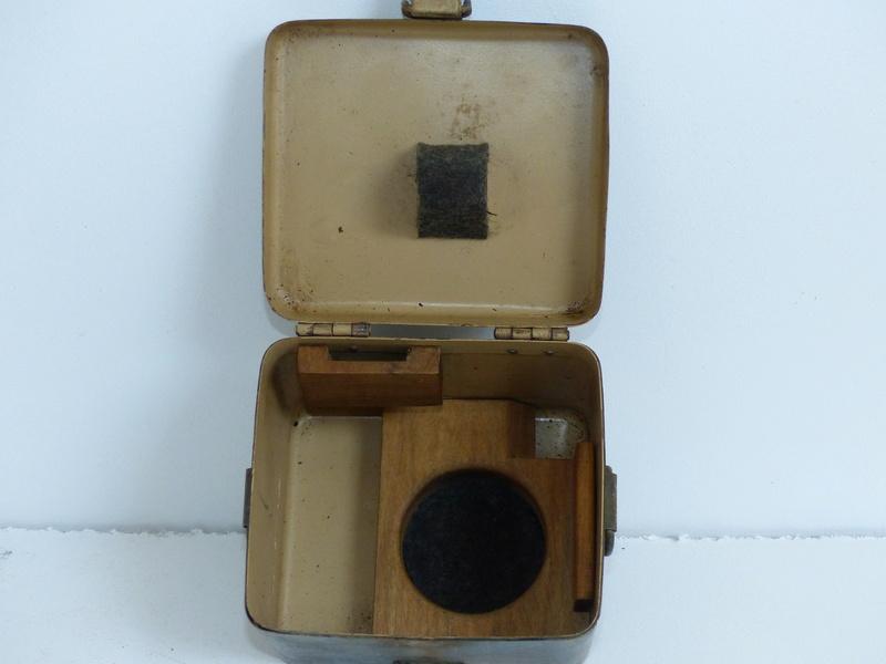 boite pour optique de mortier allemand  5cm et 8cm  P1000746