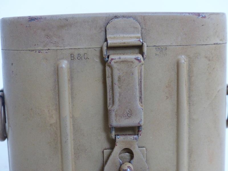 boite pour optique de mortier allemand  5cm et 8cm  P1000749