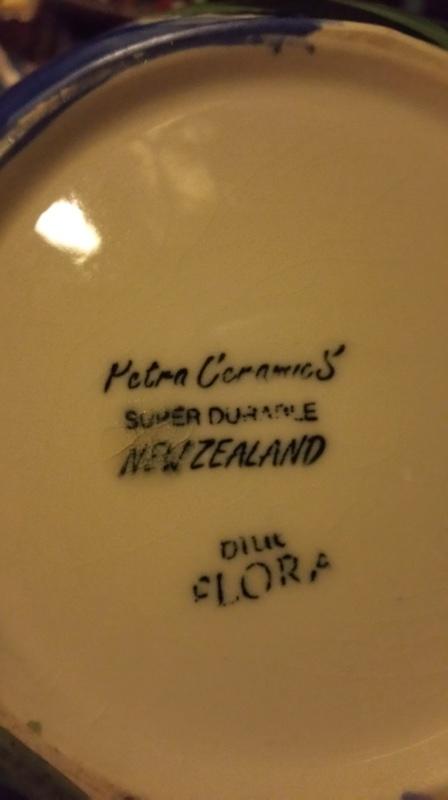 Petra ceramics.  Flora vase 39cm  20171124