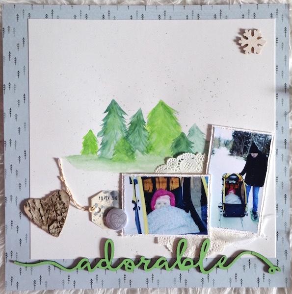 défi #8 : Des paysages enneigés Adorab10