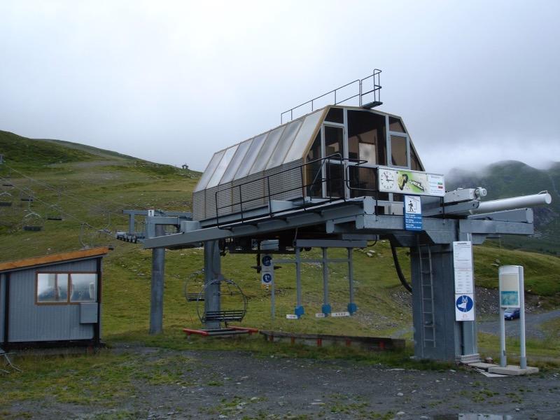 Historique du domaine skiable de La Rosière Dsc01510