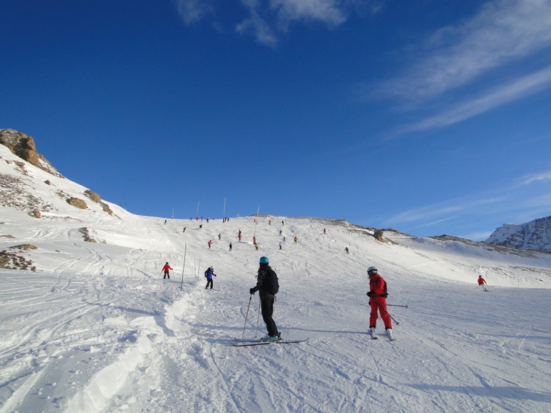 [Val d'Isère] Données sur les pistes Dsc05920
