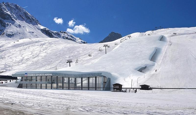 [Tignes] Un projet ... de ski dôme ! Projet11