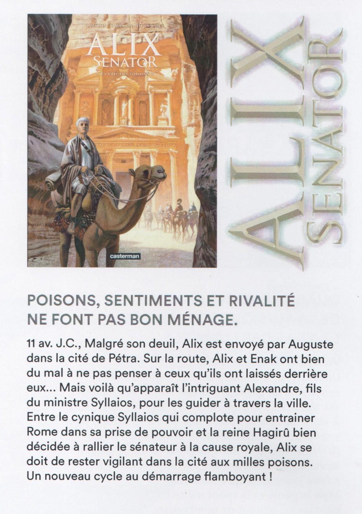 Alix Senator 8 La Cité des Poisons Senato10